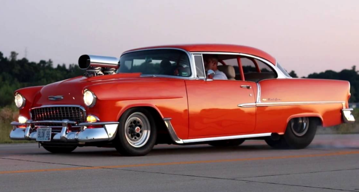 You ll Definitely Love This 1955 Chevy Pro Street   HOT CARS 1955 chevy pro street