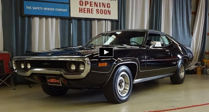 unrestored black 1971 plymouth gtx 440 survivor hot cars. Black Bedroom Furniture Sets. Home Design Ideas
