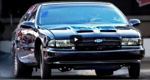 1995 chevy impala ss drag racing