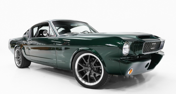 1965 mustang pro touring build