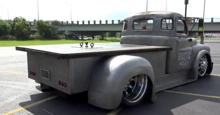 Rustic Nail & Co dodge shop truck