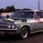 barn find chevy impala drag racing