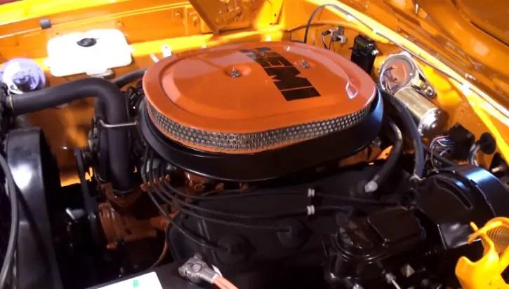 orange 1970 plymouth superbird restored