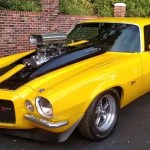 blown 1970 chevrolet camaro build