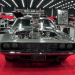 incredible hulk 1971 plymouth hemi cuda custom