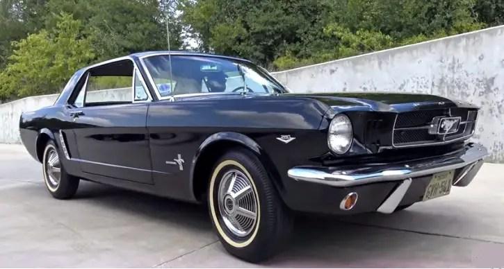 original 1965 ford mustang 260 3 speed manual