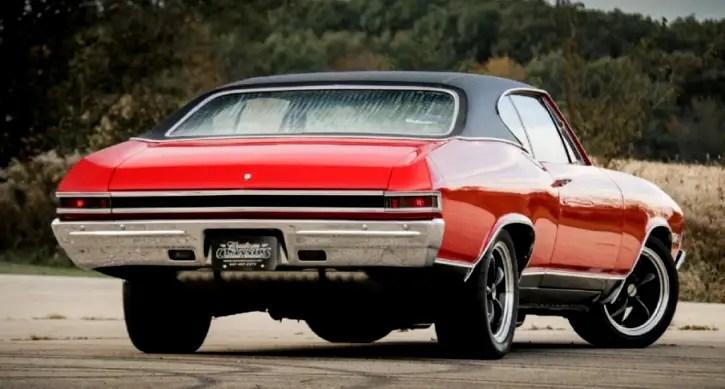 bright red 1968 chevy chevelle super sport