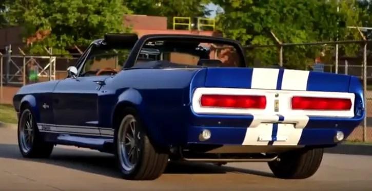 custom 1967 mustang shelby gt500 convertible