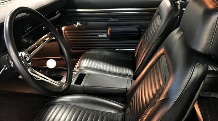 1969 chevy camaro 396 big block restoration