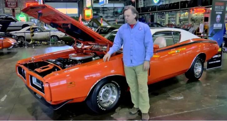 hemi orange 1971 dodge charger rt collector car