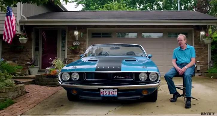 b5 blue 1970 dodge challenger r/t