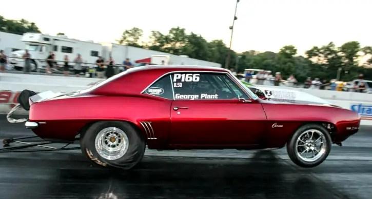 george plant nitrous z28 camaro drag racing