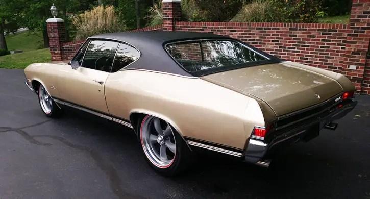 restored 1968 chevy chevelle 350