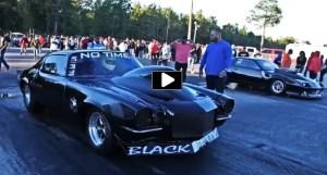 black betty camaro grudge car
