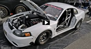 mod motor cobra mustang drag racing
