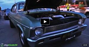 single digit turbo chevy nova drag racing