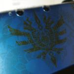 3DSLL モンハンカバーデザイン自作2