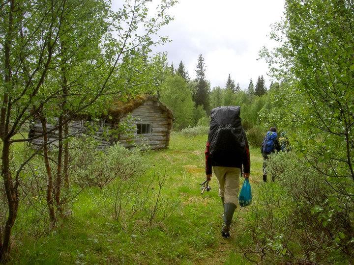 Ut på tur i Hotagsbygden. Foto Anki Hallqvist