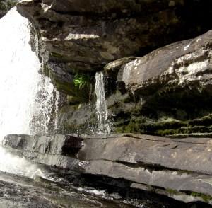 Vilda forsar och vattenfall sedan urminnes tider i Hotagsbygden. Foto Maria Grelsson