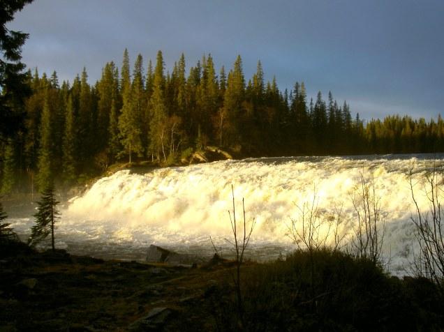 Rengsfallet i Valsjöbyn. Foto Maritha Grelsson