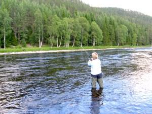 Fiske i Valsjöns fvo. Foto Hotagenkortet
