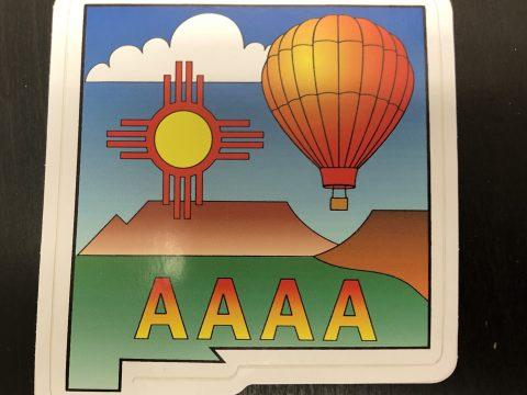 AAAA Sticker