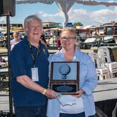 Tom Fisher Gets Sid Cutter Award