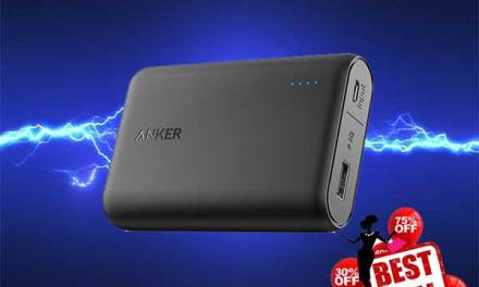 HIGH CAPACITY AND COMPACT ANKER POWERCORE POWER BANK