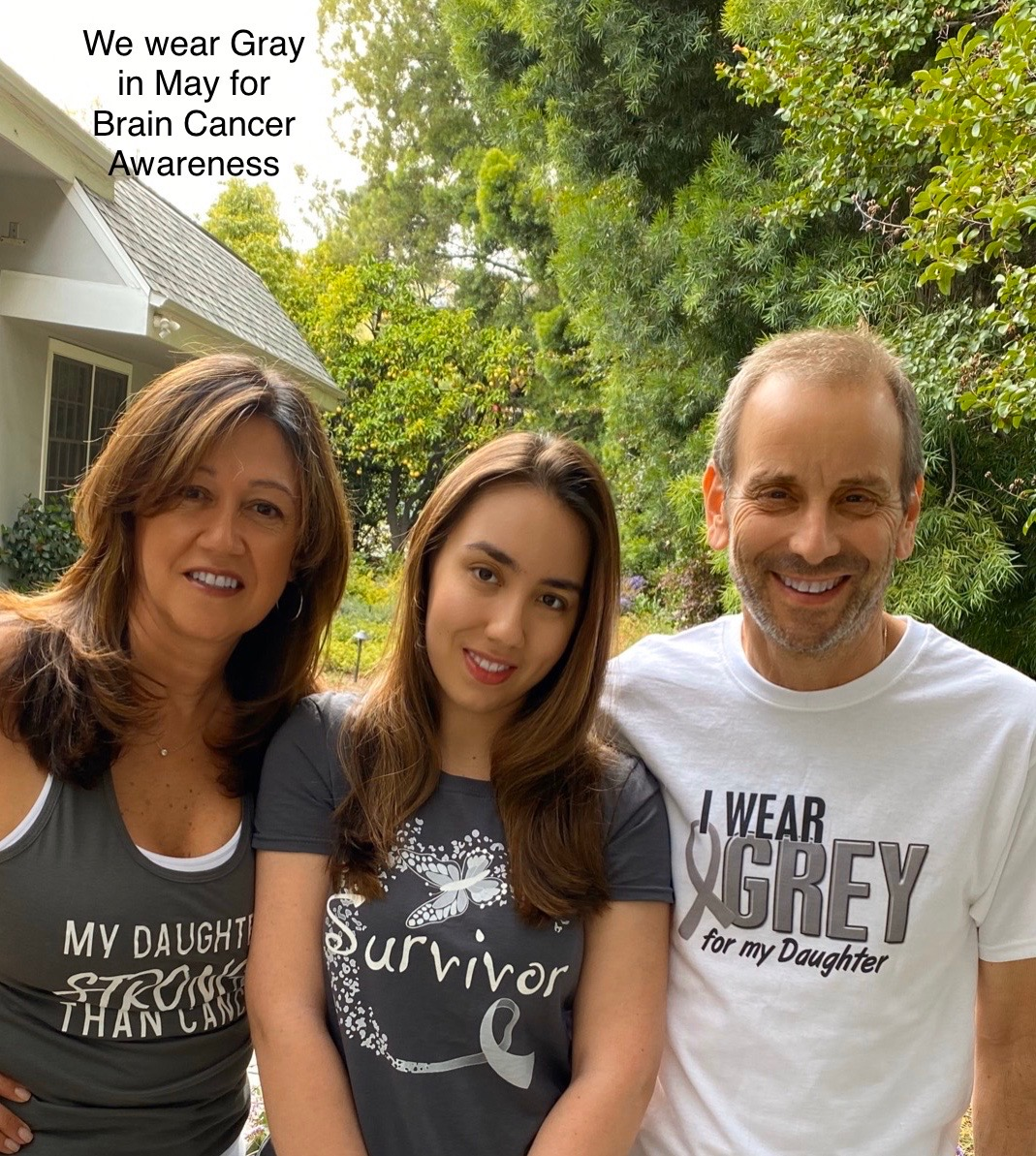 Going Gray in May for Brain Cancer Awareness