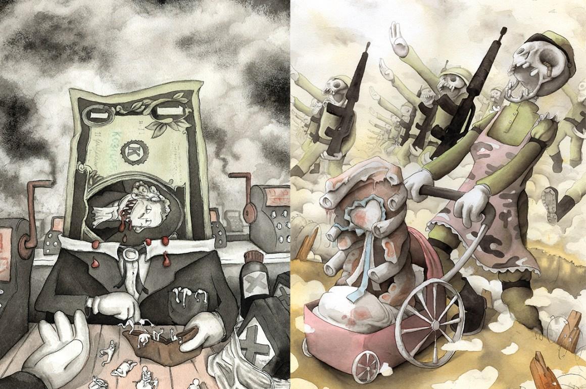 La ilustración voraz de Francesco Orazzini - galeria03_portada