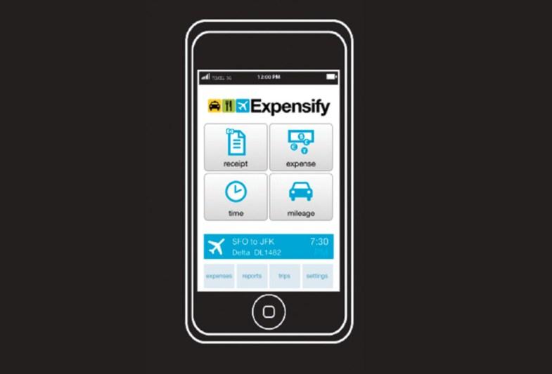 HOTapps para viajeros - expensify-1024x696