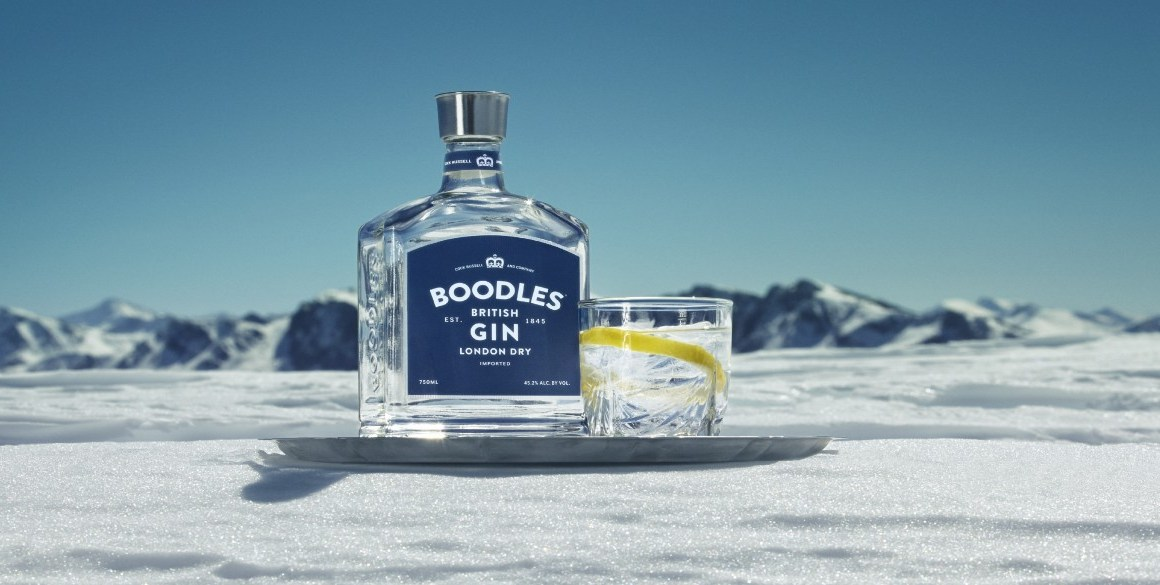 Boodles Gin - Boodles Bottle Ice1