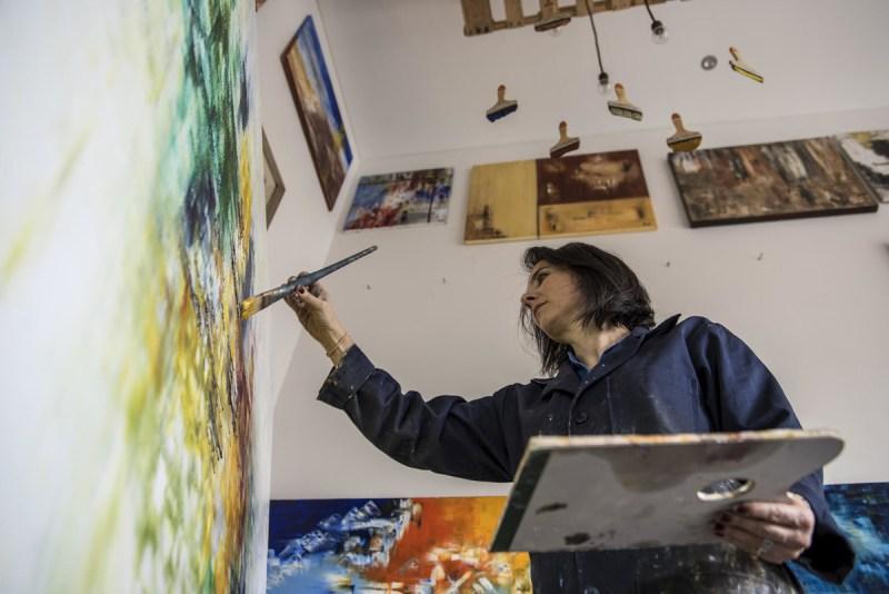 Fanny Karchmer: artista abstracta mexicana - fanny1-e1465251129140