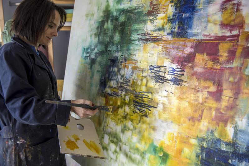 Fanny Karchmer: artista abstracta mexicana - fanny3