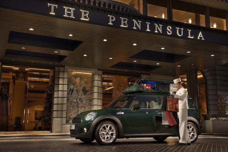 "The Peninsula Arcade ""Legenday Artisans"" - phk-shopping_-peninsula-mini-clubman"