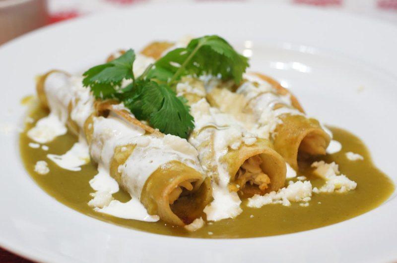 48 horas en la Ciudad de México - enchiladas