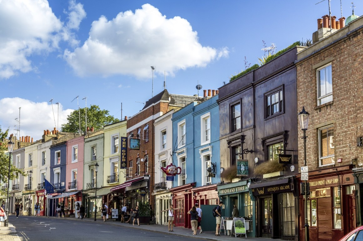 7 mercados de pulgas que debes visitar - Portobello road, famous market in London