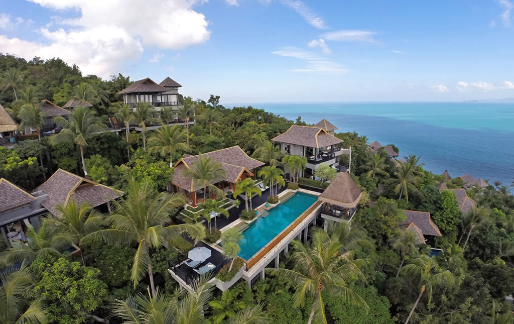 Four Seasons Resort Koh Samui en Tailandia - Four Seasons Resort Koh Samui -portada