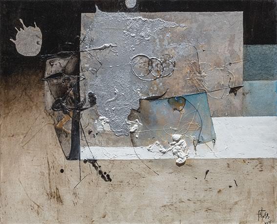 """El Grupo de los Dieciséis presenta el 37 aniversario de su venta de arte """"Denos una mano"""" - felguerezmanuel portada"""