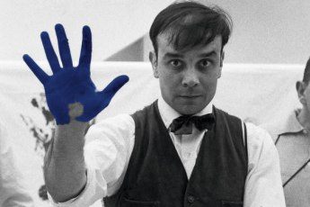 Yves Klein en el Museo Universitario Arte Contemporáneo MUAC - Yves Klein portada