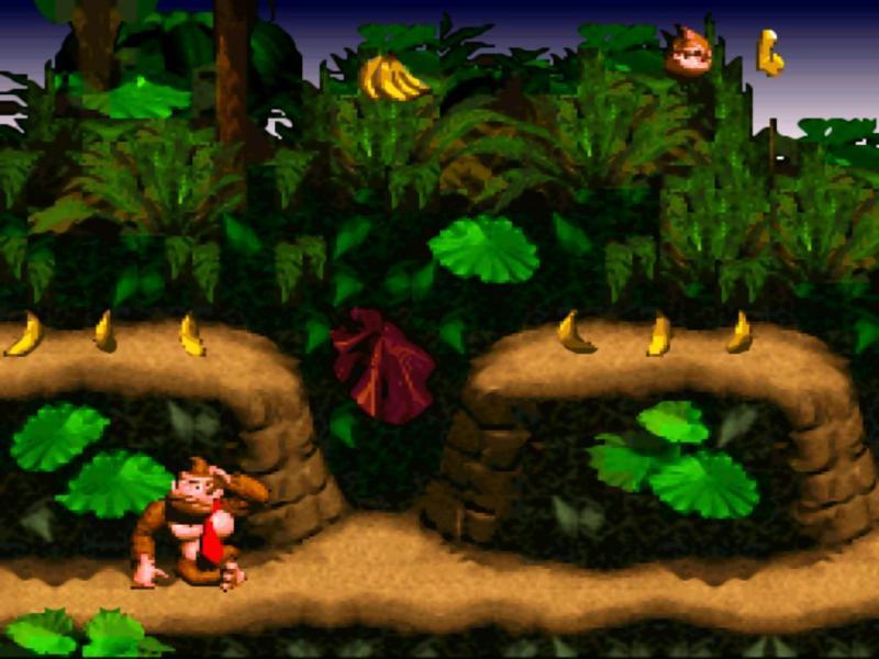 Los mejores videojuegos de los noventas. - 2.-Donkey-Kong-