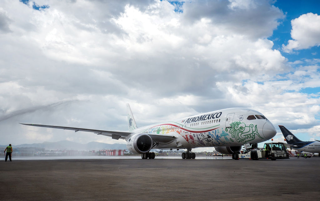 Mundo Premier en el Boeing 787-9: DREAMLINER - Boeing 787-9 - Dreamliner - AEROMÉXICO-1