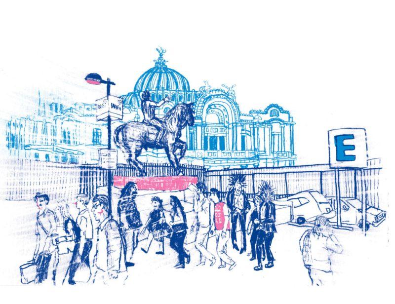 Nuestras recomendaciones para este fin de semana del 9 al 12 de noviembre - Fin-de-semana-Ilustracion-Emmanuel-Peña-Gran-salon-mexico