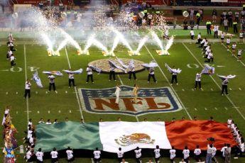La NFL de regreso en México, Raiders vs Patriots - NFL en México - 1. Bandera México