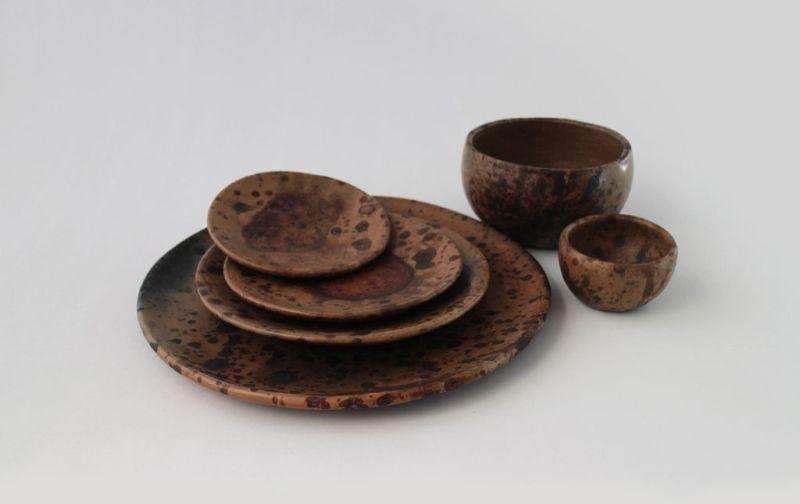 El colectivo 1050º, Innovando las tradiciones - Vajilla-Los-Reyes-Pinto-1050-Grados