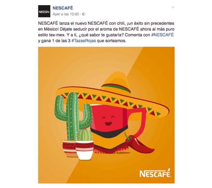 Algunas bromas del Día de los Inocentes - Nescafé-Chili