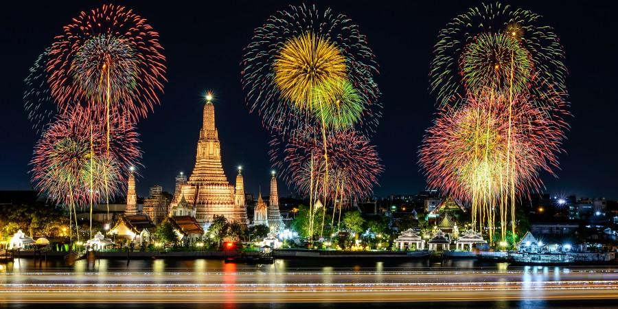 Los mejores destinos del mundo para festejar Año Nuevo - PORTADA y Bangkok