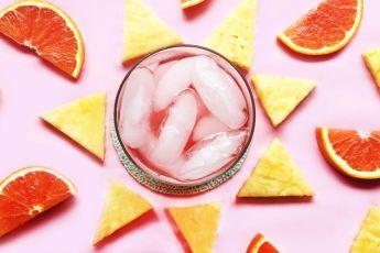 Tea Cocktails - Tea Fruit Iced