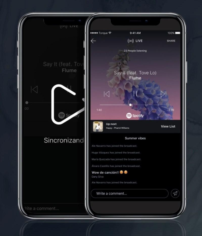 Vibes, interacción a partir de la música - App-Vibes-3
