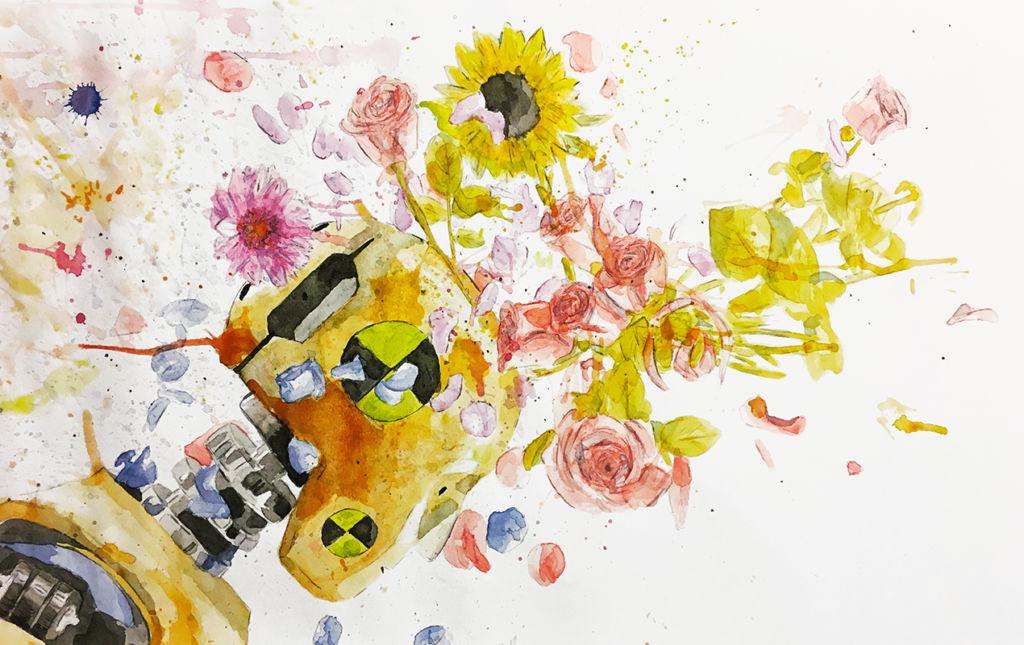 The Strange: Manuel Flores Kuri - PORTADA-flowers
